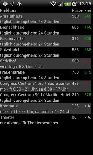 【免費旅遊App】Ulmer Parkhäuser-APP點子
