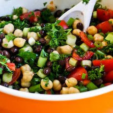 Middle Eastern Bean Salad with Parsley and Lemon (Balela)