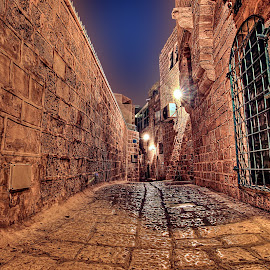 OLD JAFFA by JOel Adolfo - City,  Street & Park  Historic Districts ( street&park, city )