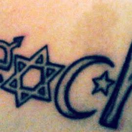 TEACH by Megan Costa - People Body Art/Tattoos ( freedom, jewish, islam, religions, female, peace, male, star of david, togethernes, tattoo, christainity,  )