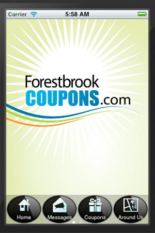 FORESTBROOK COUPONS