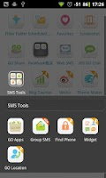 Screenshot of GO SMS Group sms plug-in 1