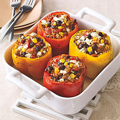 Turkey-Stuffed Peppers