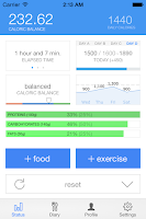 Screenshot of KCals Calorie Counter
