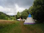 Tábor ve dne...