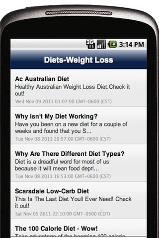 Diets--Weight Loss