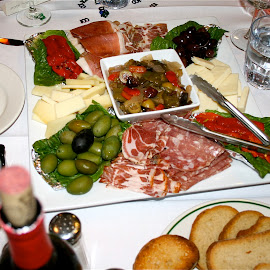 That's Italian. by Peter DiMarco - Food & Drink Meats & Cheeses ( antipasto italiano, meats and cheeses, italian food, chesses, meats )