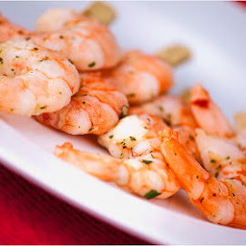 Shrimps by Eitel Bock - Food & Drink Plated Food ( foods, shrimp, plate, food photography, delicious, prawns )