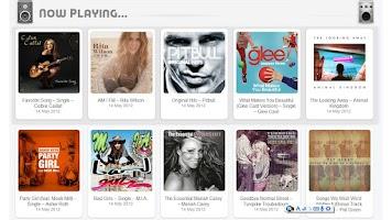 Screenshot of Music Hits of iTunes n Amazon