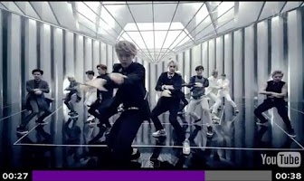 Screenshot of EXO MV ( SHOW TIME, COVER )
