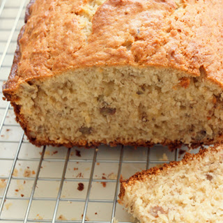 Banana Bread with Coconut & Pecans