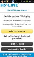 Screenshot of HY-LINE Display Selector