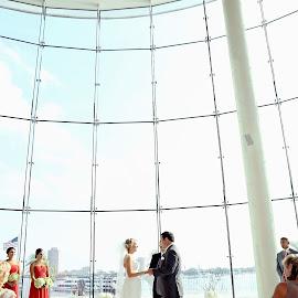 Halfmoone by Kristen Livingston - Wedding Ceremony