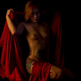 AYA by Kazh Man - Nudes & Boudoir Artistic Nude ( model, nude, boudoir, beauty, light, nudes )
