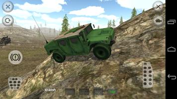 Screenshot of Army Truck Driving Simulator