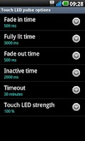 Screenshot of LG Touch LED Notifications