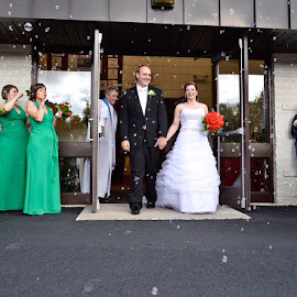by Crystal  Ayala - Wedding Bride & Groom