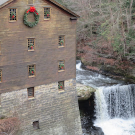 Lanterman's Mill and Falls by Marcia Taylor - Novices Only Landscapes (  )