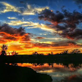 Sky on Fire by Berry Fraley - Instagram & Mobile Android