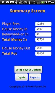 Poker Payout Trial Version - screenshot