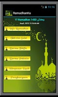 Screenshot of RAMADHAN KU:Puasa Ramadan 2015