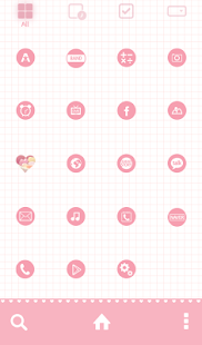 love is so sweet dodol theme - screenshot