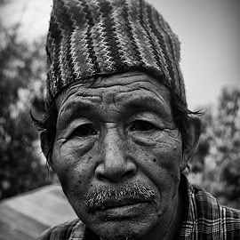 Daju by Santanu Banerjee - People Portraits of Men
