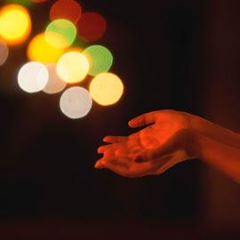 by Sayantani Basu - Abstract Light Painting