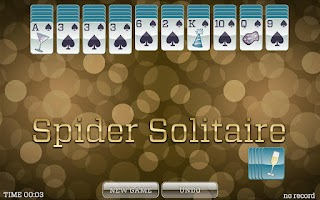 Screenshot of New Years Solitaire FREE