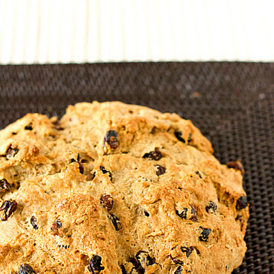 Irish Whiskey Soda Bread with Irish Whiskey Butter