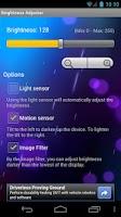 Screenshot of Brightness Adjuster
