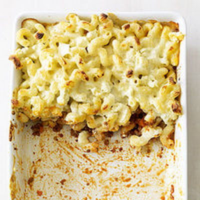 Beef-and-Feta Pasta Bake