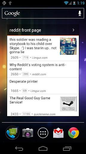 redditastic – reddit widget