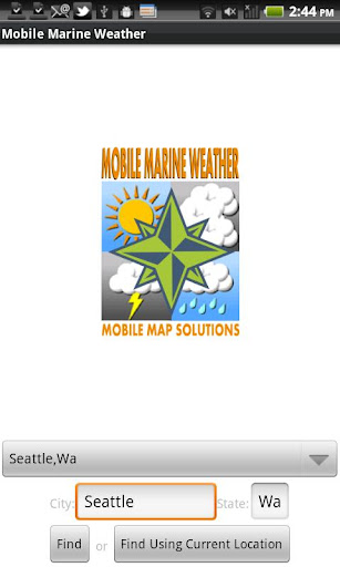 Mobile Marine Weather