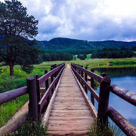 Rocky Mountain Bridge by Joan Powers - Instagram & Mobile iPhone