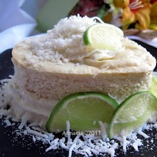 De Lime in De Coconut Cheesecake