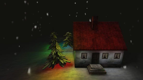 Snowy House Live Wallpaper - screenshot