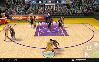 Screenshot of NBA 2K13