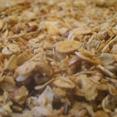 Nutty Fruit Free Granola