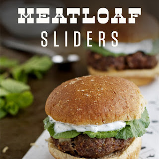 Mediterranean Meatloaf Sliders