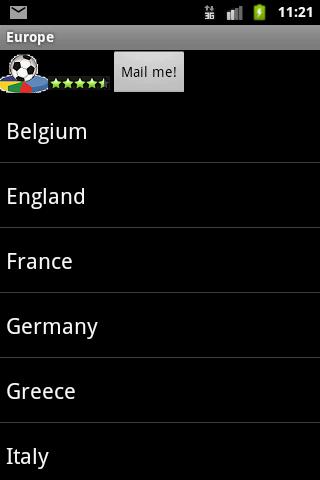 Europe Football History