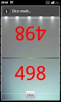 Screenshot of Numbers & Dice Random generate