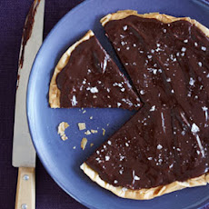 Chocolate-Salted Caramel Tart