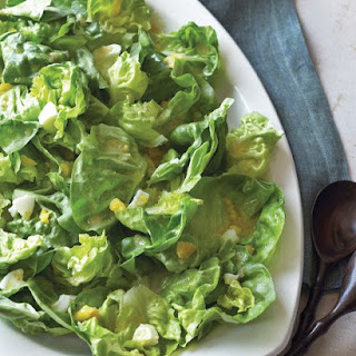 Bibb Lettuce Salad with Horseradish Dressing