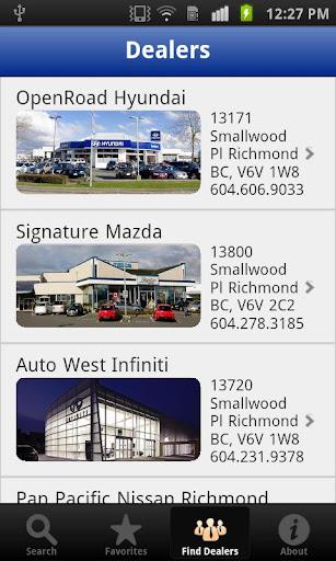 Richmond Auto Mall Car Search