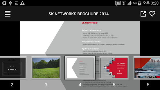SK Networks Brochure 2014 - screenshot