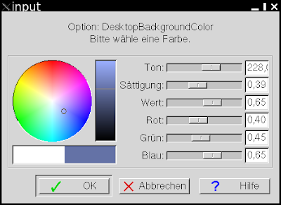 Farbauswahldialog