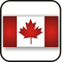 Canadian Flag doo-dad icon