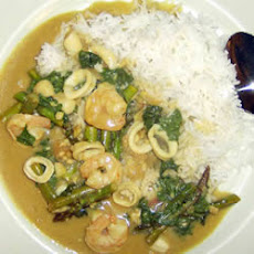 Mixed Seafood Curry