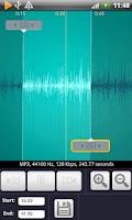 Screenshot of Music Ringtone Maker